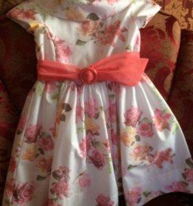 Очень красивое платье для девочки Brums