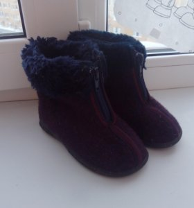 Зимние ботинки р23