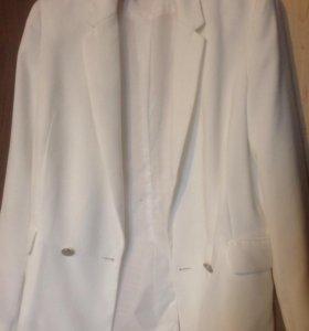 Пиджак белый (кремовый)