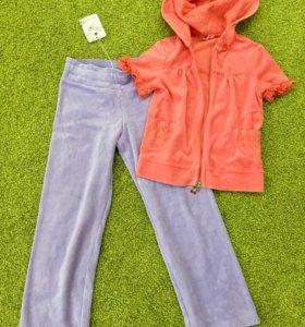Костюм штаны и кофта  на девочку