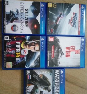 God of war 3,Evil within PS4.