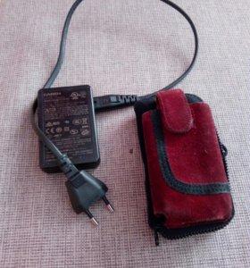 Зарядник и чехол для фотоапппрата Casio