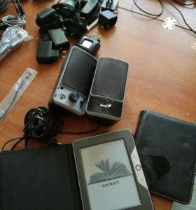 Телефоны, зарядки, кабели, эл.книги, все подряд