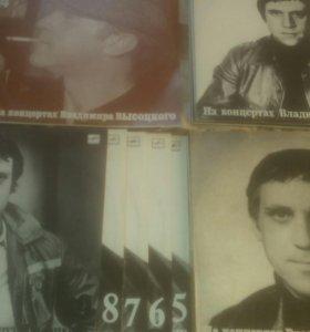 Пластинки В. Высоцкий 21концерт
