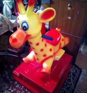 Детский аттракцион Жирафик