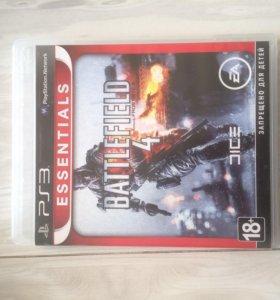 Диск на PS3 Battlefield 4