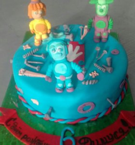 Торт на заказ /мастика )