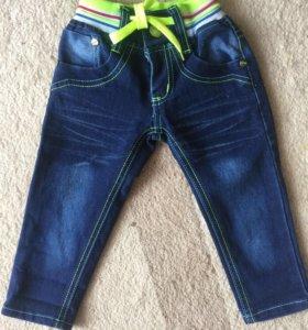 Новые детские  джинсы !!!