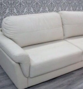 Новый кожаный диван кровать