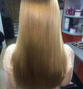 Лечение волос термо кератин