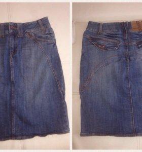 Юбка джинсовая женская, р-р 42-44