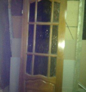 Дверь дерево. 2,11 на 84 см.