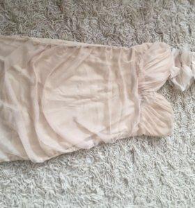 Платье новое бежевое