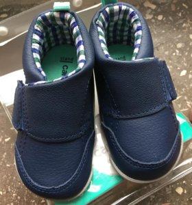 Ботинки, пинетки carters ботиночки