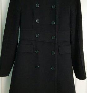 Пальто двубортное Zara размер хs(рост 160-165)