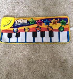 Коврик-пианино