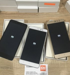 Xiaomi Redmi Note 3 Pro Новые С Гарантией