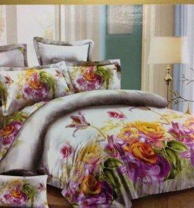 1,5спальный Комплект постельного белья