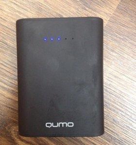 Портативный аккумулятор Qumo PowerAid 10400 черный
