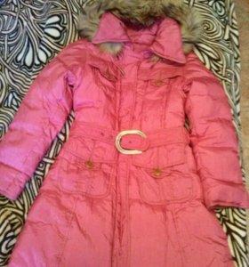 Зимний Пуховик(пальто) для девочки