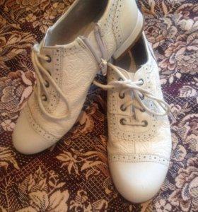 Туфли на девочку 9-10 лет весна осень