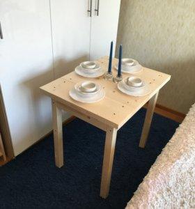 Новый кухонный стол из натурального дерева