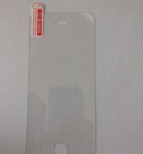 Стекла защитные для iPhone 5/5s/SE