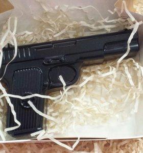 Мыло-пистолет