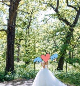 Свадебное платье 40-42р