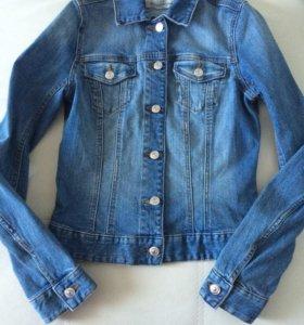Новая джинсовая куртка H&M р.34 (XS, 40 р.)