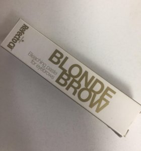 Качественная краска для бровей и ресниц ( блонд)