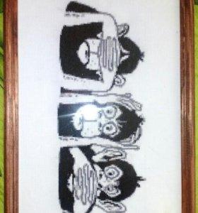 "Картина ""Три обезьяны"""