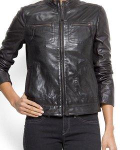 Куртка кожаная Mango XS
