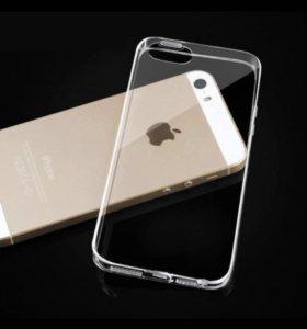 Силиконовый чехол на iPhone 5 iPhone 5s iPhone SE