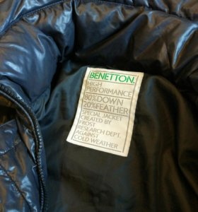 Зимняя куртка Benetton