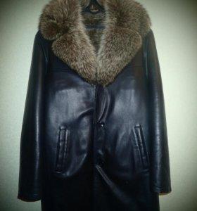 Куртка мужская натуральная кожа и мех