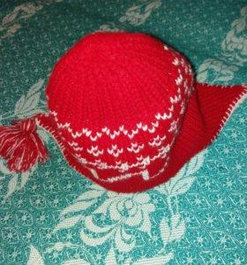 Зимняя шапка женская/подростковая👧👱⛄