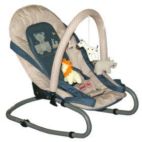 Кресло-шезлонг с подвесными игрушками