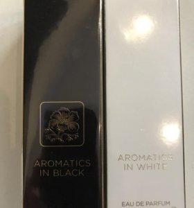 AROMATICS in BLACk in WHITE