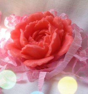 Роза - мыло ручной работы