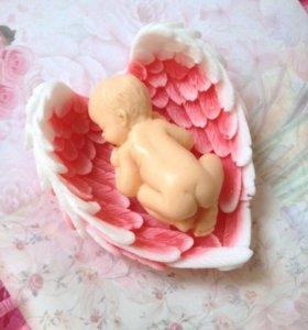 Мыло Малыш в крылышках в 8 марта