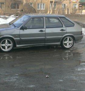 Продам колёса r16 lenso 4/100  резина 195/45