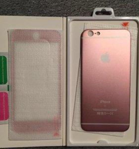 Накладка: стекло и задняя крышка на iPhone 6/6s