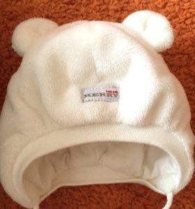 Шапка Kerry зимняя 38 размер(0-3 мес. На выписку