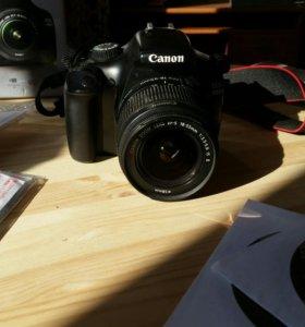 Canon 1100 D состояние нового фотоаппарата