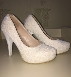 Свадебные туфли 35 размер