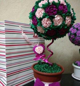 Топиарий - цветы счастья!!