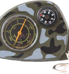 Компас с измерителем расстояния по карте