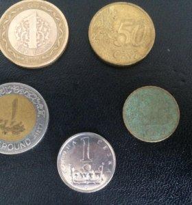Монеты из других стран