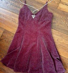 Шикарное платье 42 р